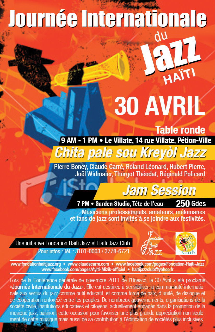 Flyer Journee du Jazz